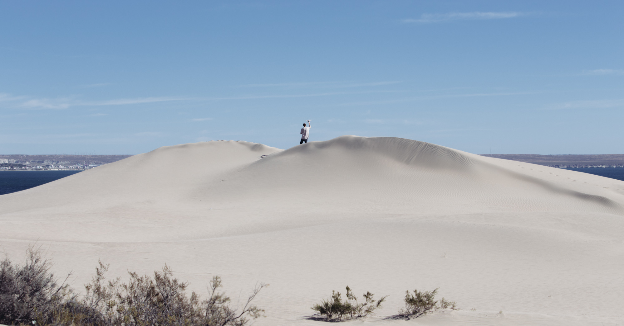 There are some excellent sand dunes at Punta Este on the way there.