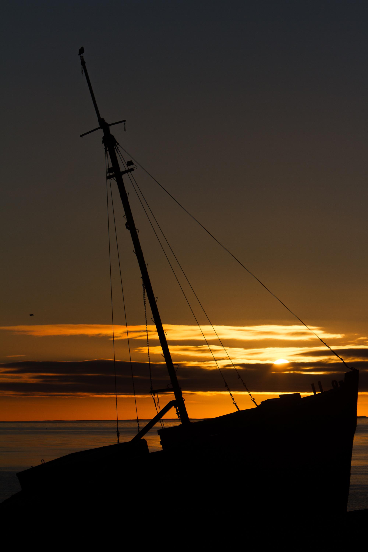 Sunrise in Punta Arenas.