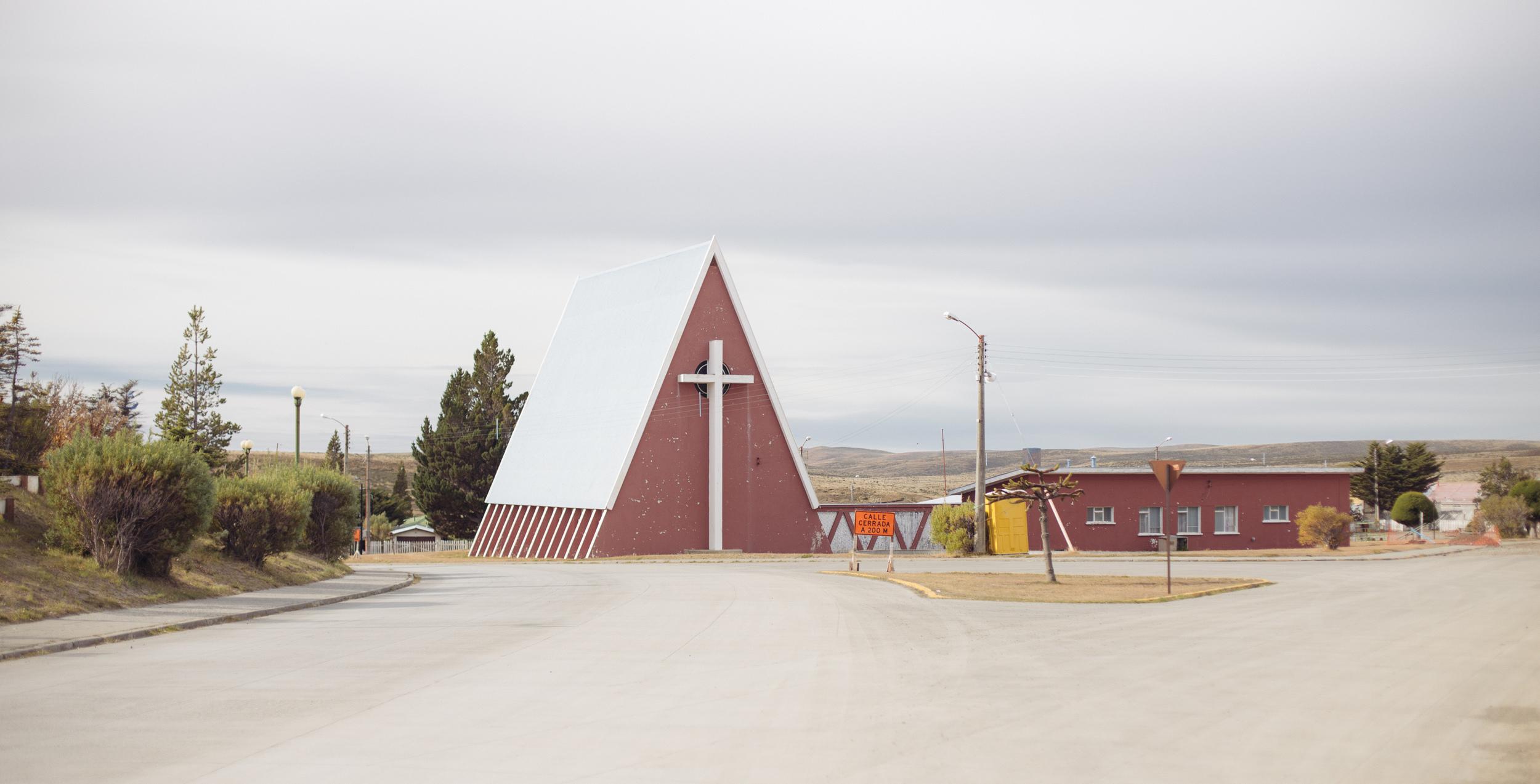 Cerro Sombrero church.
