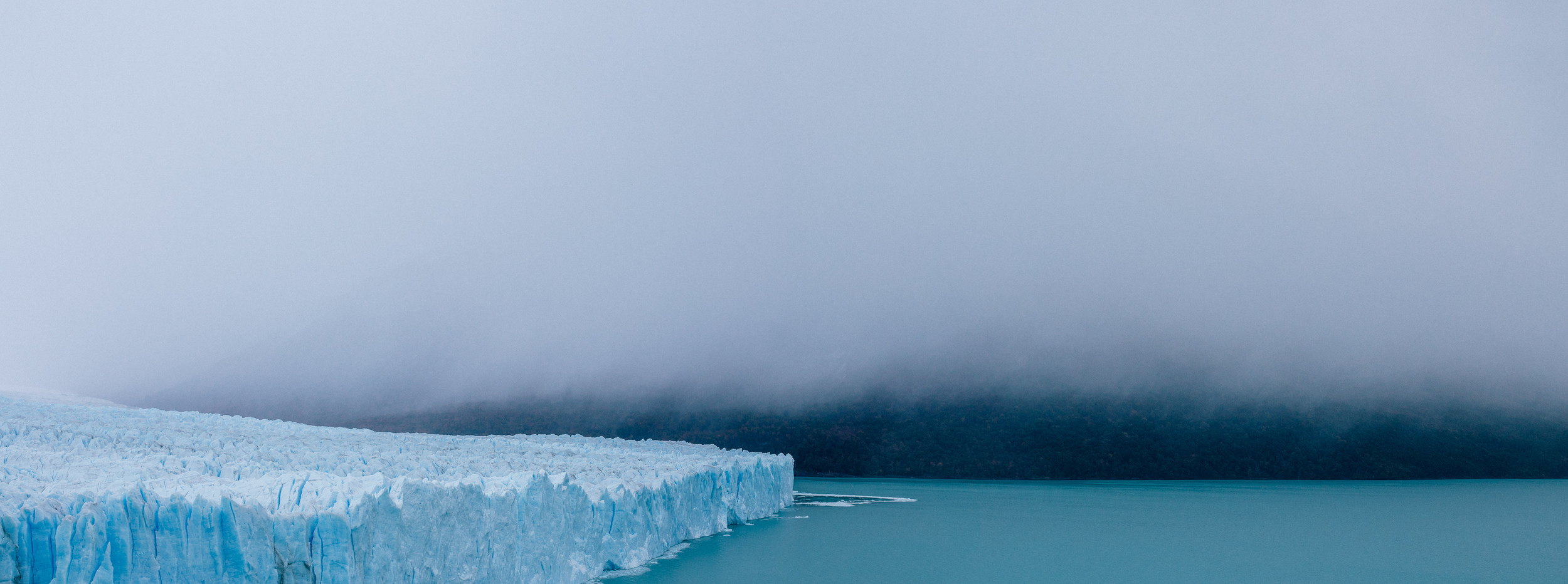 The northern side of the tip of Perito Moreno.