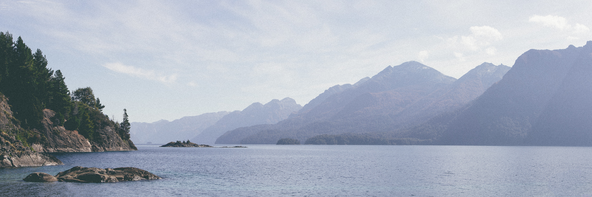 View over Lago Nahuel Huapi.