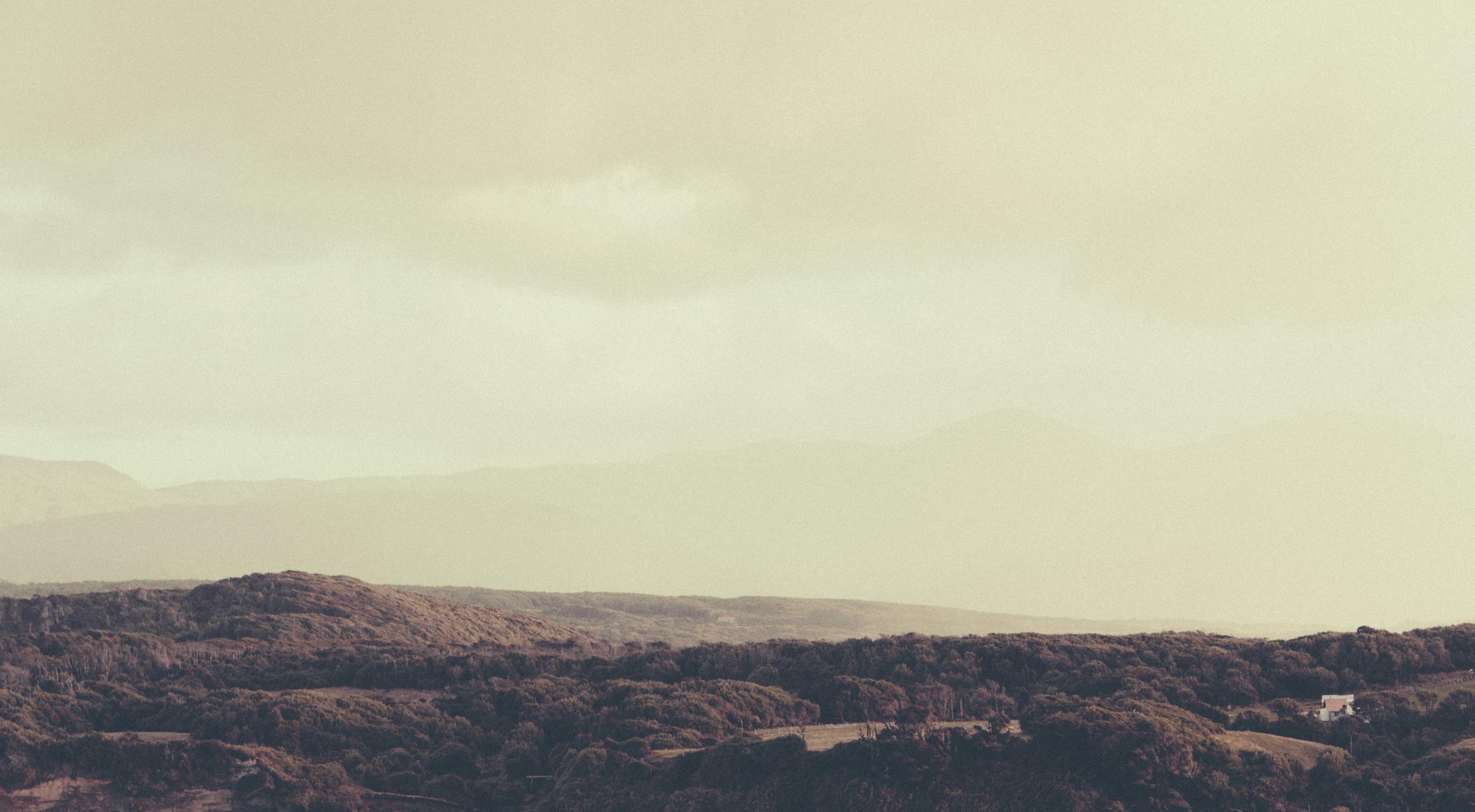 Winter on Chiloe brings regular rain.