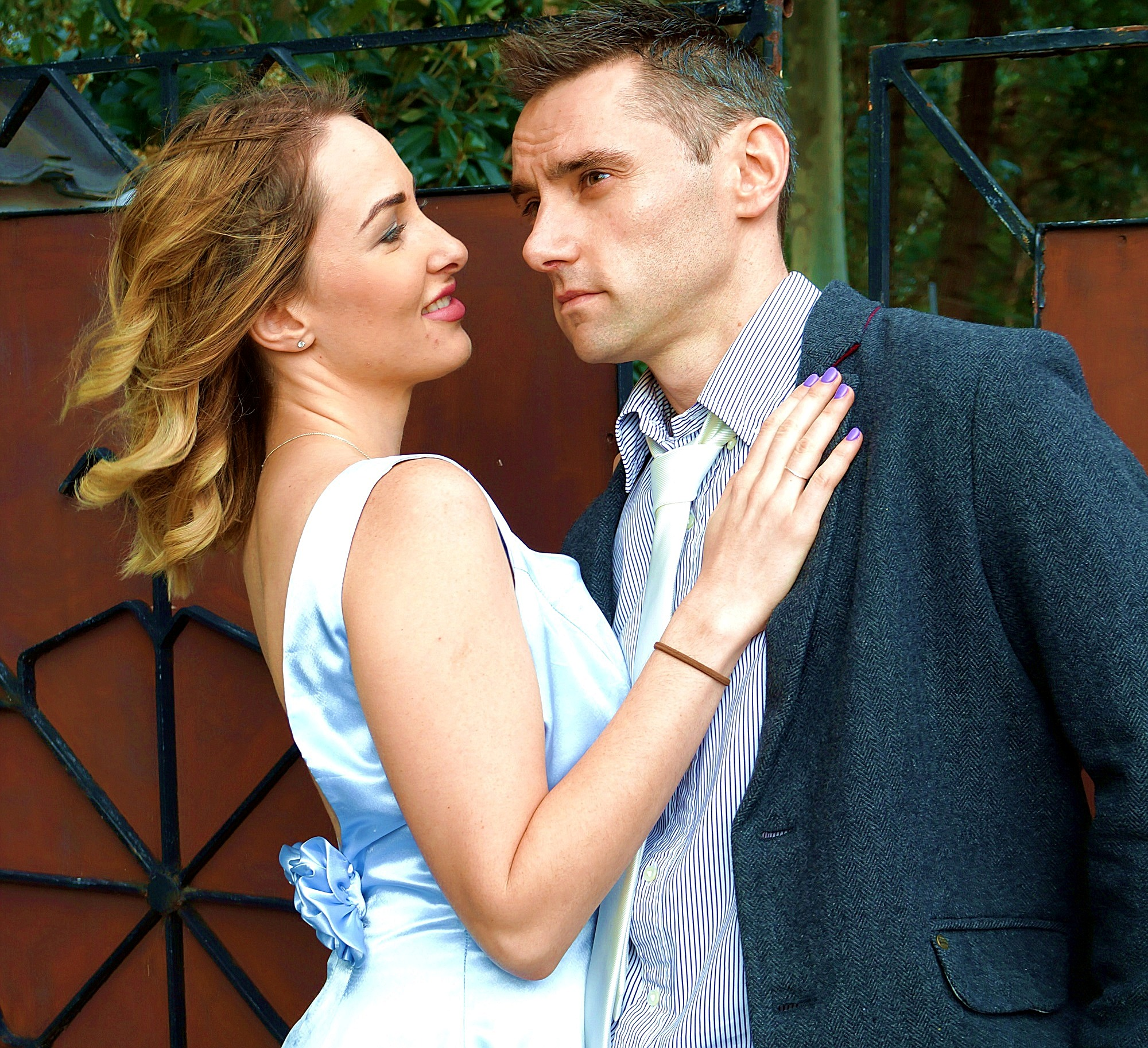 Coral (Steph Locke) is drawn to newlywed Rick (Stewart Mulligan) in the play  Away , celebrating its 30th anniversary this year.