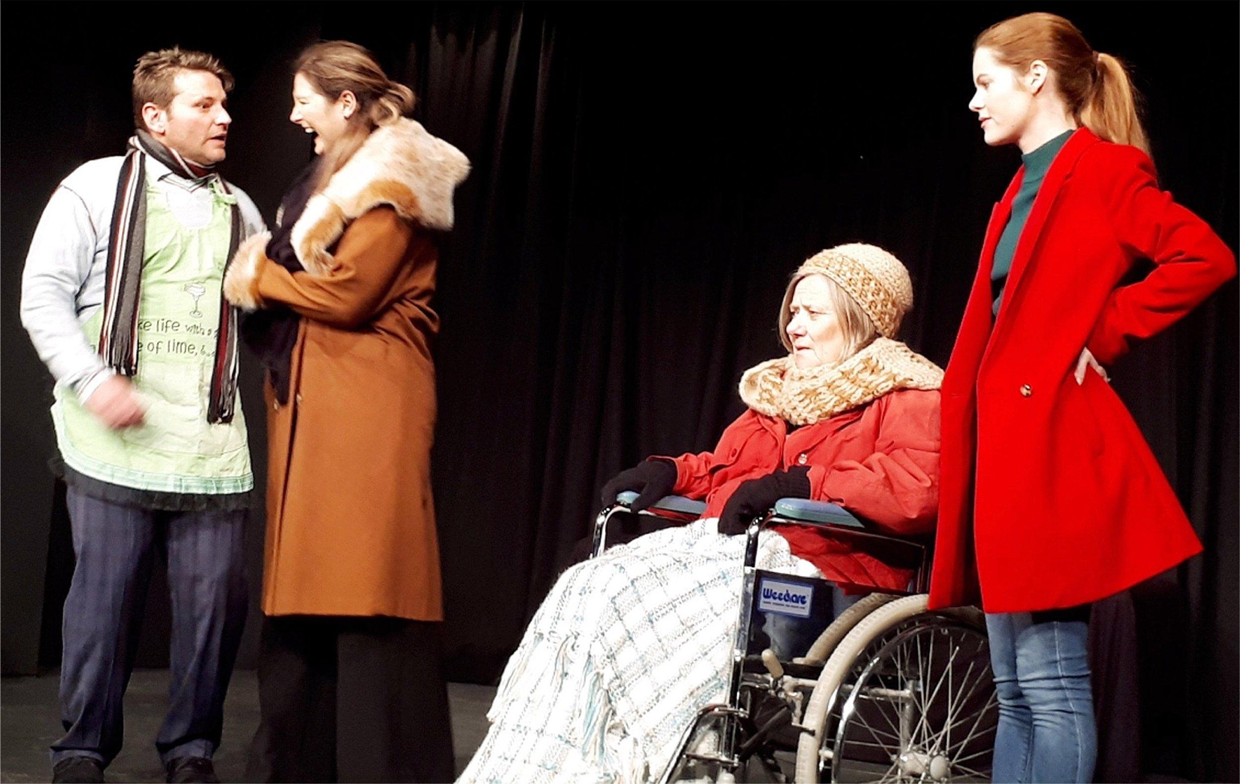 Wonderful World  features Jethro Pidd, left, Natalie Burbage, Valerie Henry and Madelaine Jones. Picture: Lyn Leeder