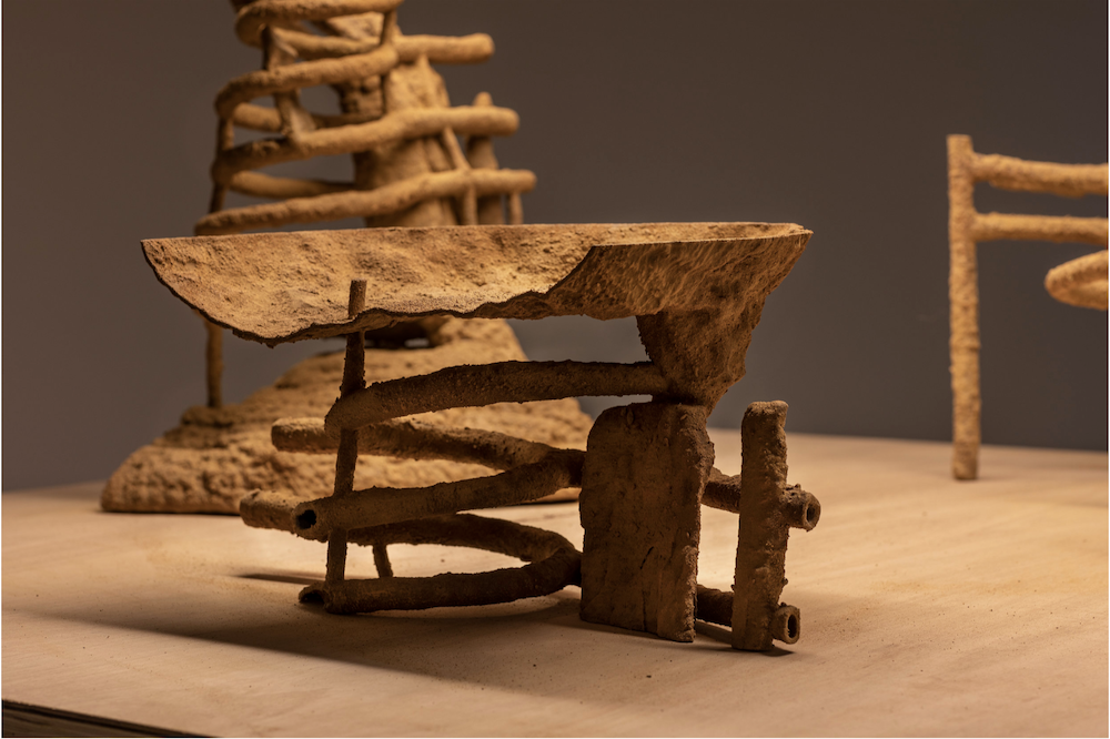 Image credit: Courtesy of the artist and Sutton Gallery, Melbourne. Photography by Andrew Curtis.   Termite Economies (Phase One)  by Nicholas Mangan