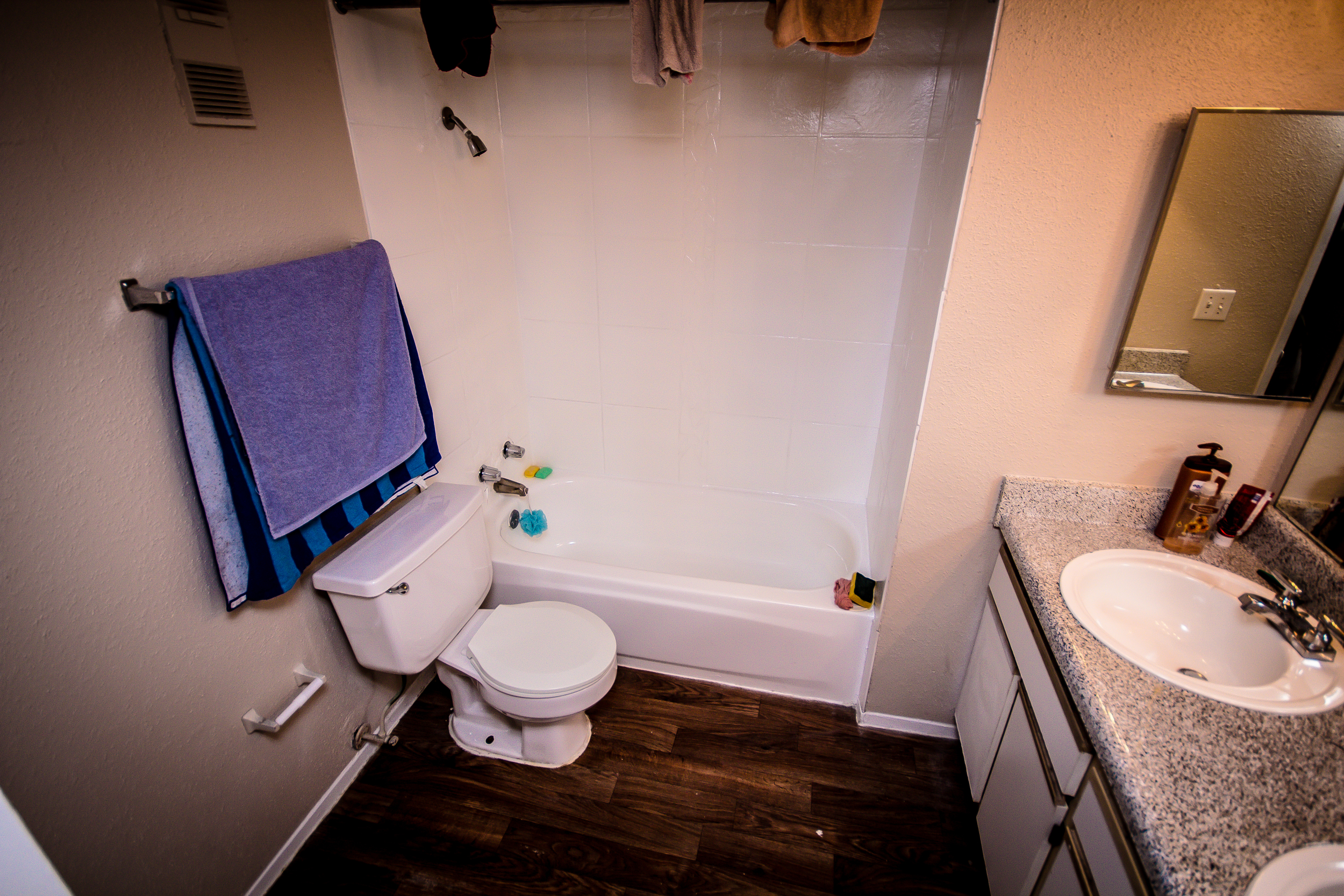 Upstairs Bathroom - Before