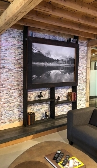 COMMERICAL - Whether working with a designer or independently, Easel Art will curate art for any space in your business.