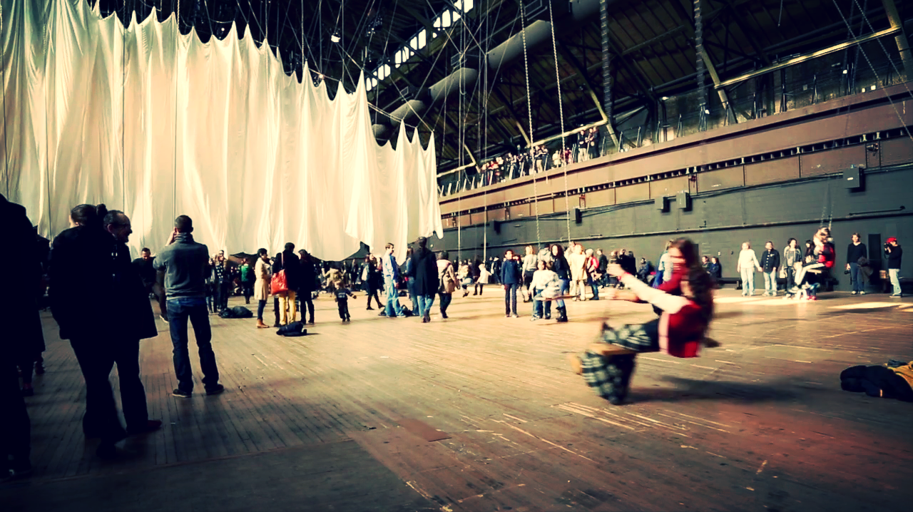 Massive #Art #Installation on the Ephemeral Nature of Time