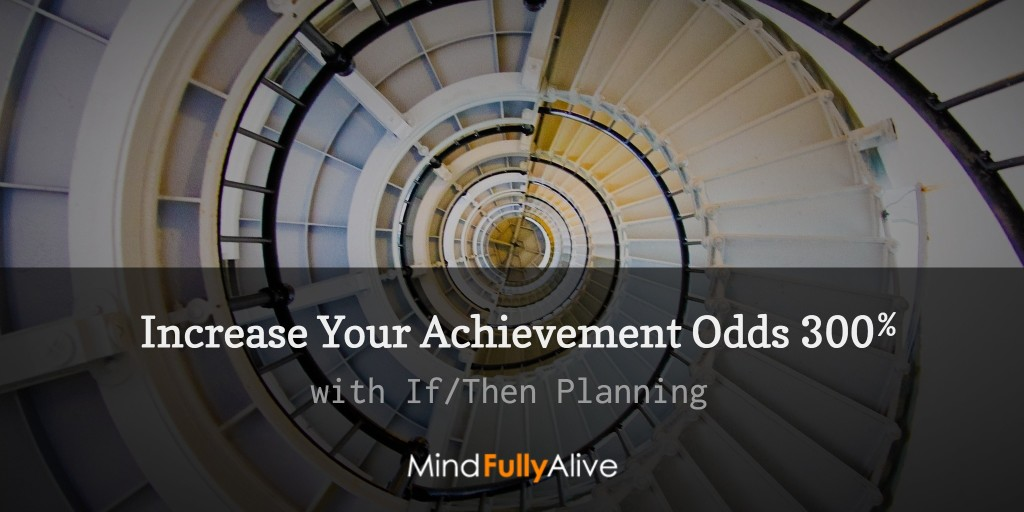 How to Increase Your Odds at Reaching Your #Goals 300%