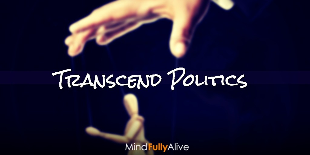 How to #Transcend and Hack #Politics with Insights from #Brain #Science