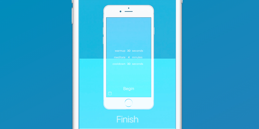 A Perfectly Minimalistic (and Free) #Meditation #App #iOS