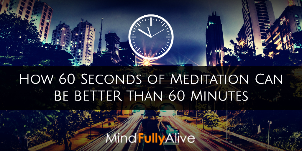 How Shortening Your #Meditation Can = Bigger #Results | #Brain #Lifehacking #Mindfulness