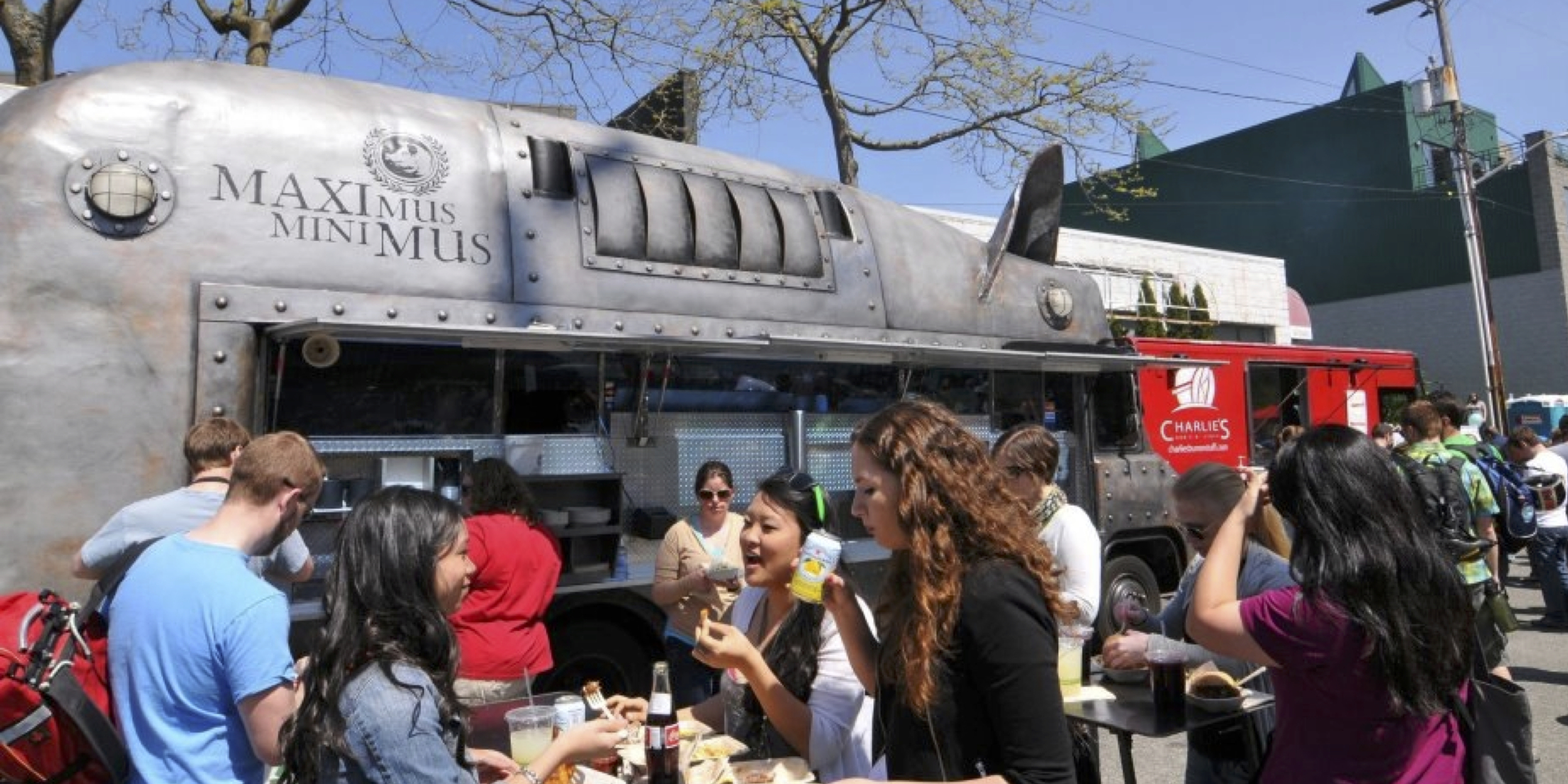 FAMOUS FOR OUR STREET FOOD AND ROTATING SELECTION OF VABULOUS FOOD TRUCKS