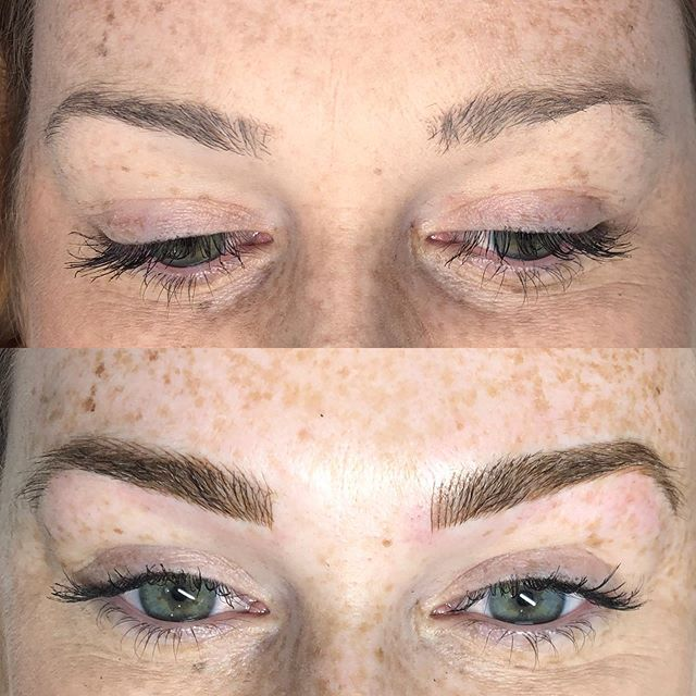 Before/after ✨ almost all of my appointments through the end of the year are booked up so I am adding an extra day- Monday December 2nd! Call Tigerlily if you want to get fresh brows before Christmas💖 805-541-9911 ✨ #brows #eyebrowtattoo #eyebrows #browsonfleek #browgame #newbrows #hairstrokes #microblading #microstroking #permanentmakeup #spmu #slo #805 #sanluisobispo #natural #shareslo #tigerlilysalon #centralcoast #eyebrowembroidery #browembroidery #3deyebrows #3dbrows #6dbrows #archaddicts #bentonbrows #softap #softapbrows #powderbrows #healedbrows