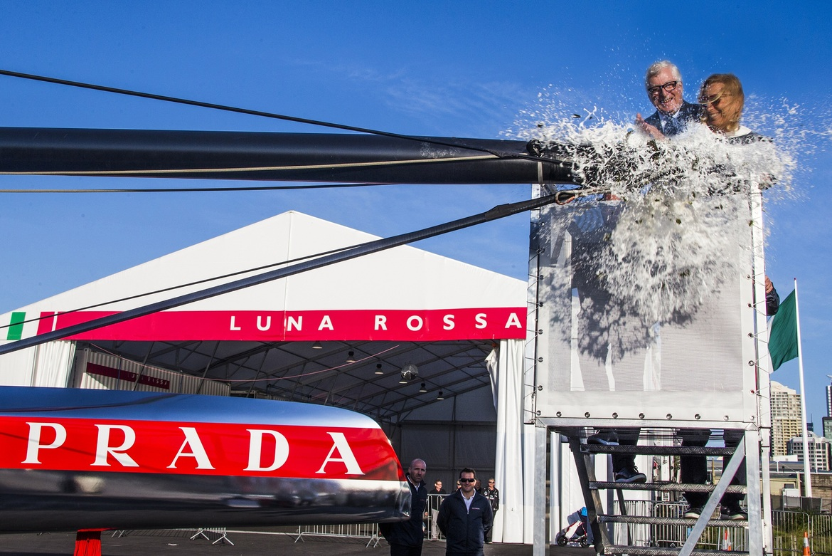 PRADA PROJECT : LUNA ROSSA / 300 MAN POWER / 52.000 WORKING HOURS / 500 KG TITANIUM