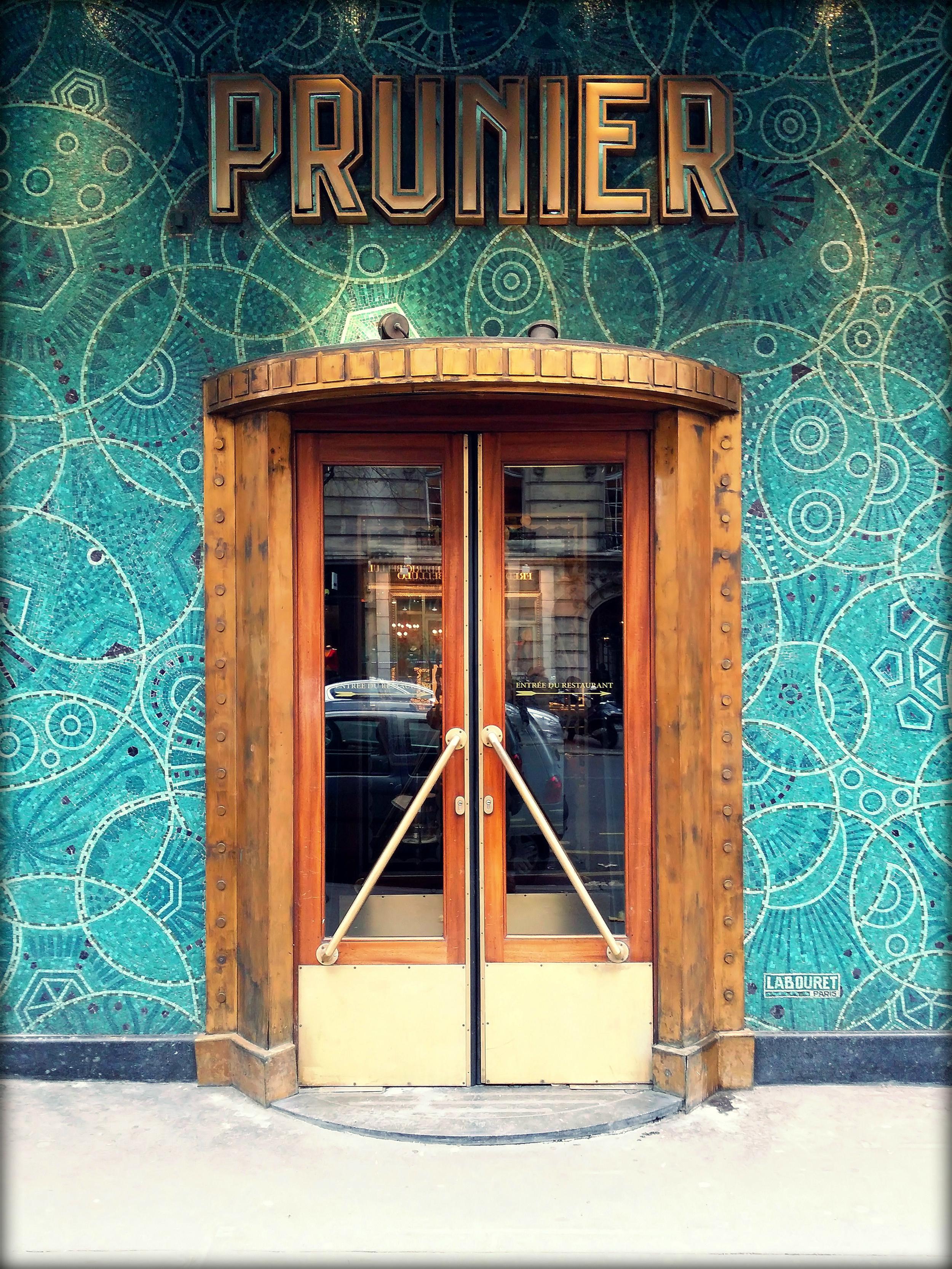 PRUNIER / PARIS 16EME