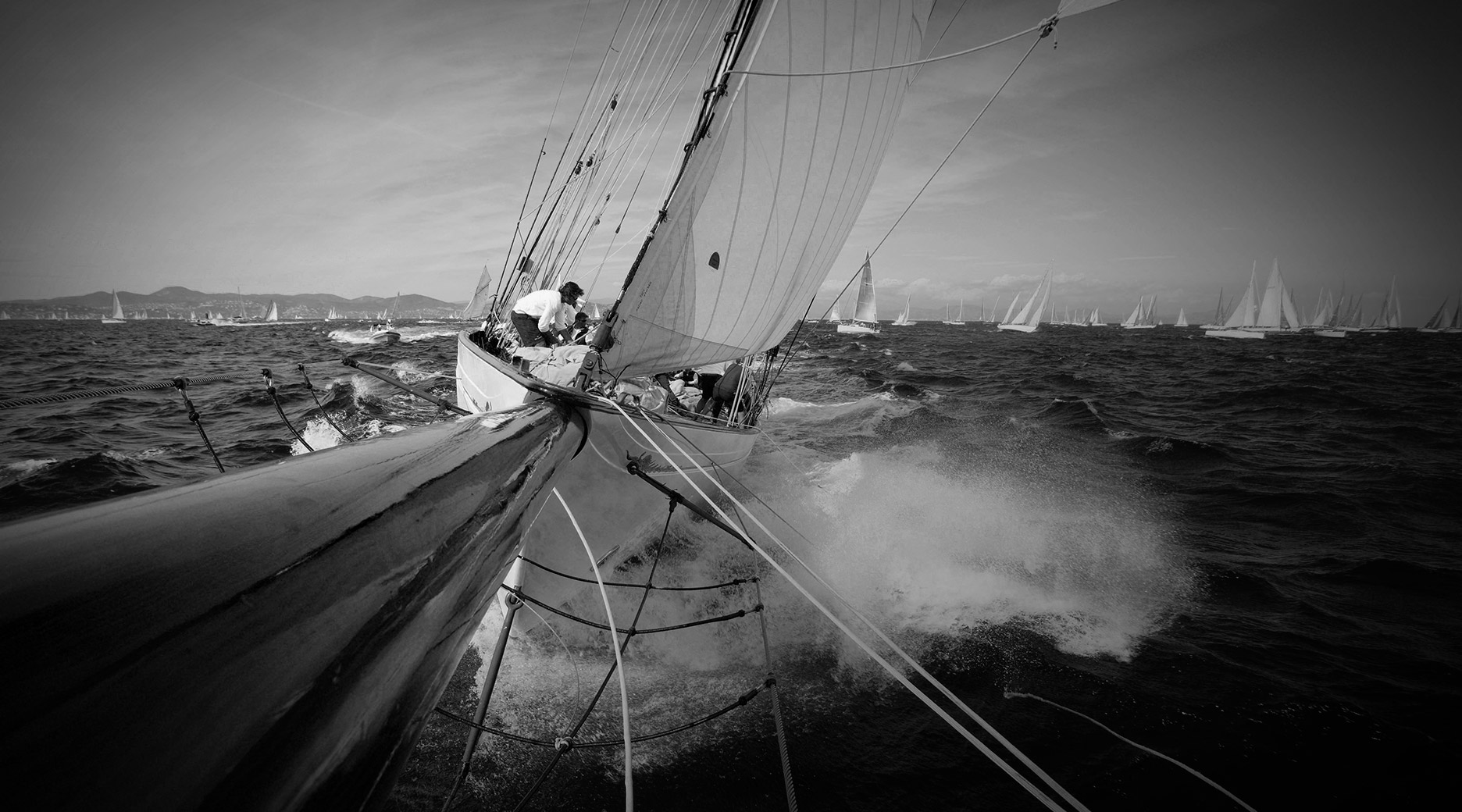 CLASSIC YACHT RACING AT ST. TROPEZ