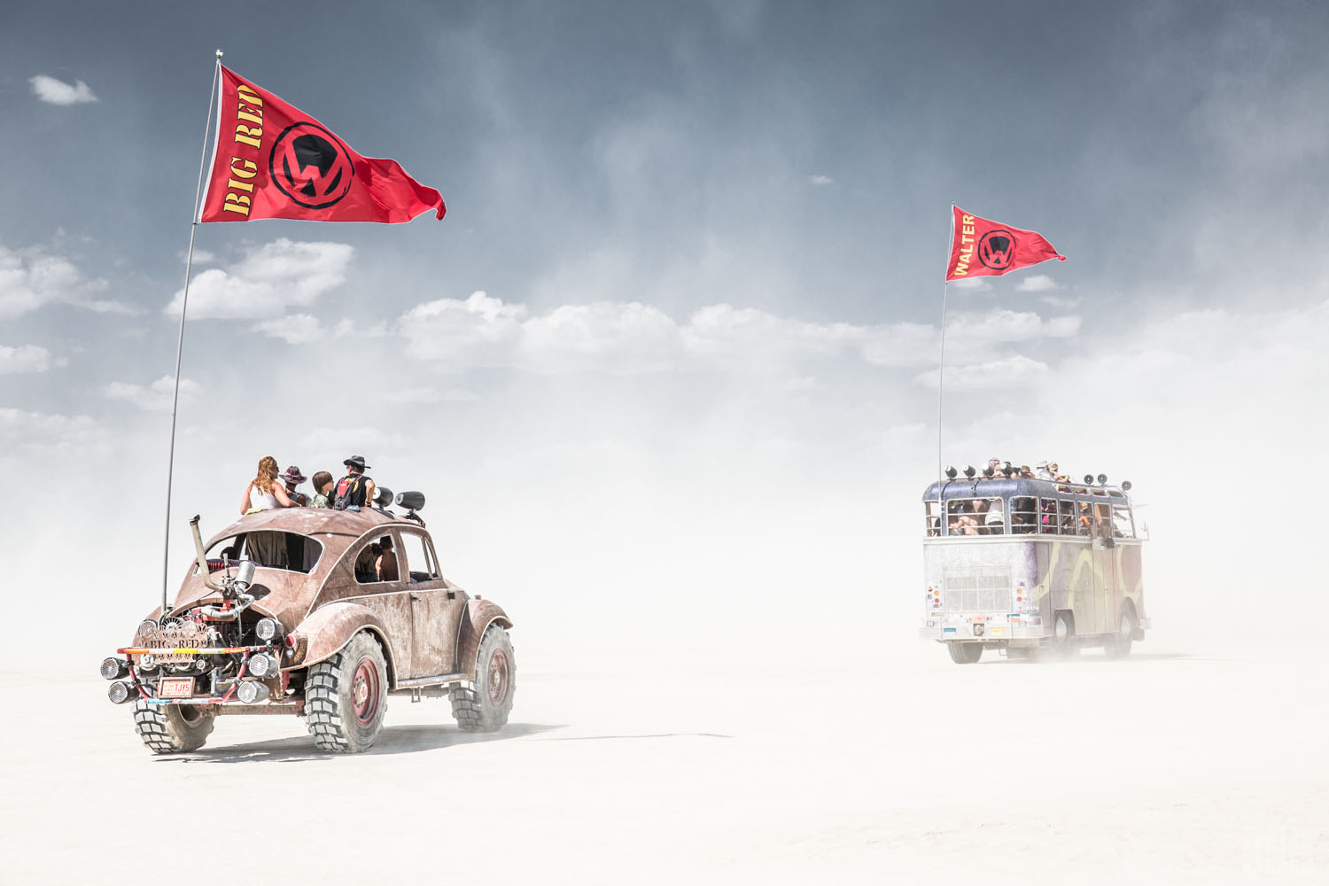 THE ROUTE TO BURNING MAN