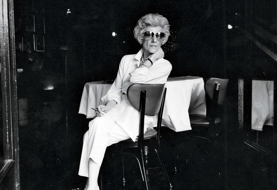 Rao's matriarch Anna Pellegrino Rao at the restaurant, 1993.