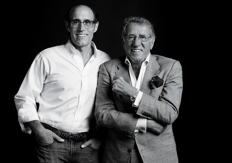 Pellegrino Jr. and Sr. in Hollywood, 2015.