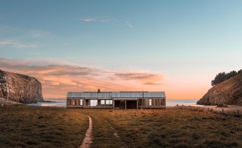 SCRUBBY BAY BEACH HOUSE / NZ