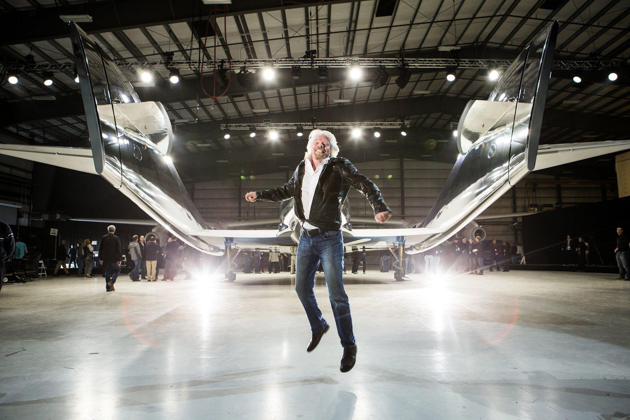SPACEMAN Richard Branson : NEXT EXIT MARS