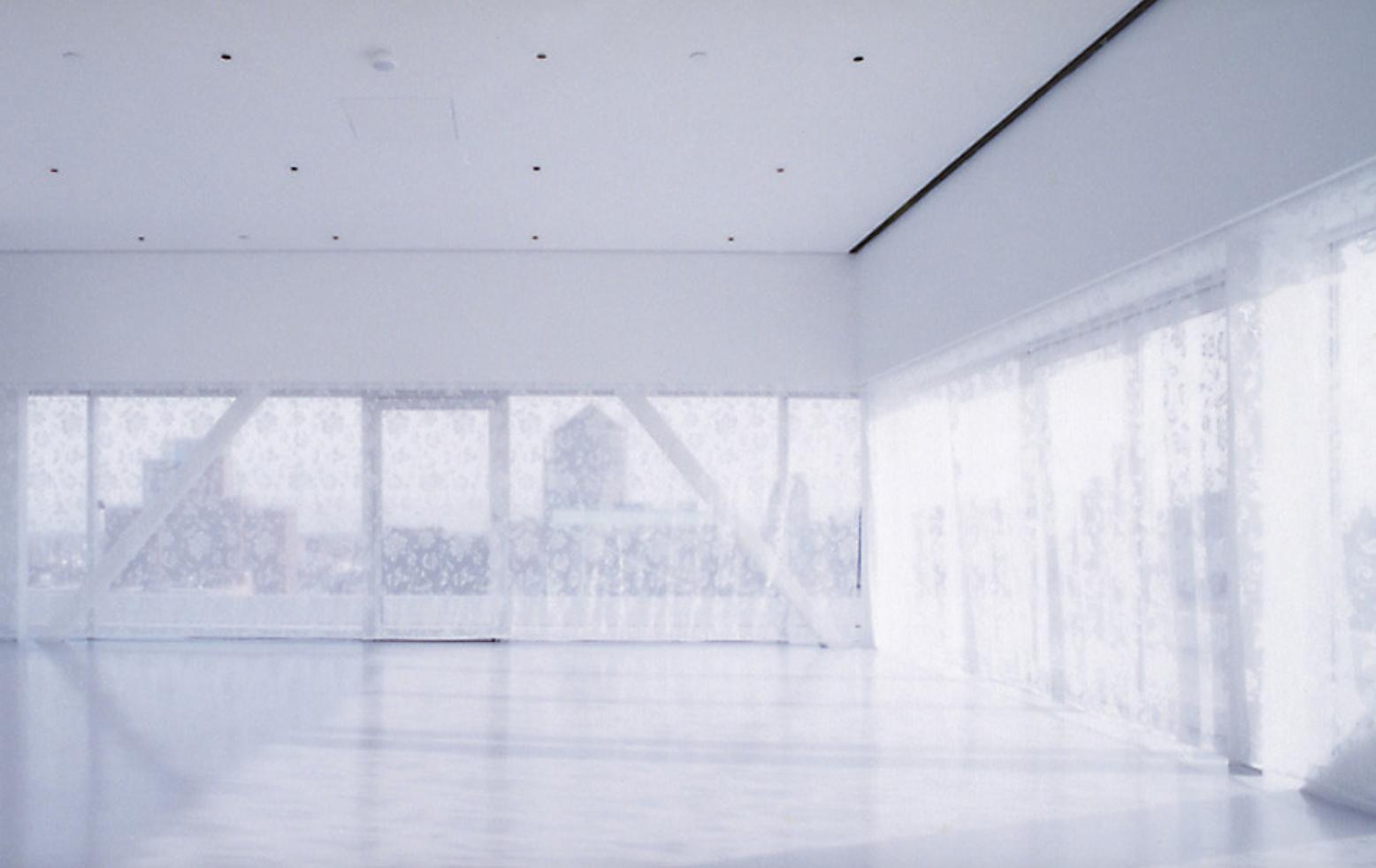 NEW ART MUSEUM NYC /  INSIDE