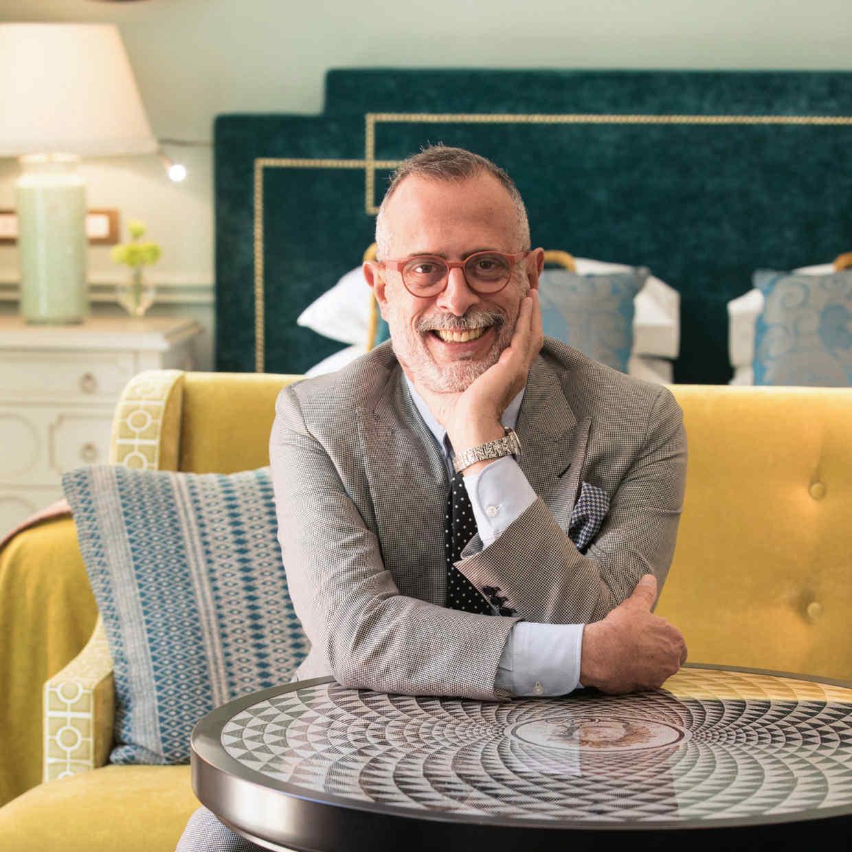Tommaso Ziffer, architect/designer of Hotel de la Ville and the Hotel de Russie