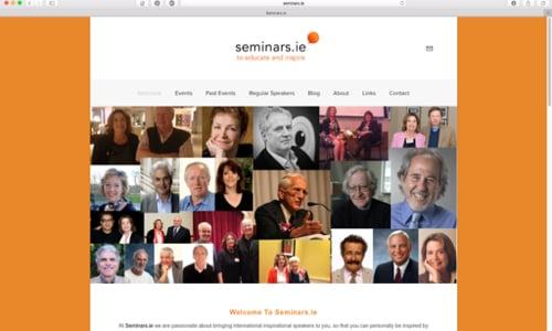 Seminars.ie by Coughlan Web