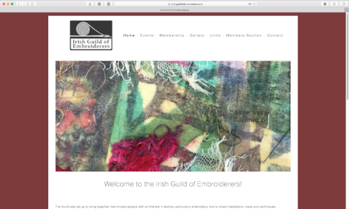 The Irish Guild of Embroiderers by Coughlan Web