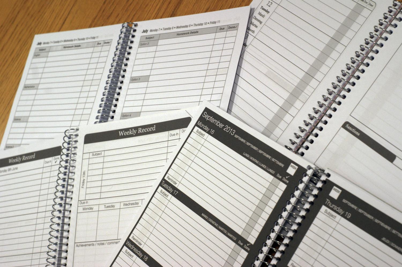 Secondary Planners — WavePrint | Homework Planners