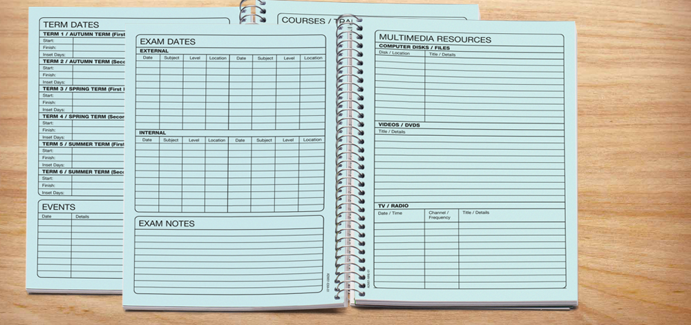 20 admin and planning pages -