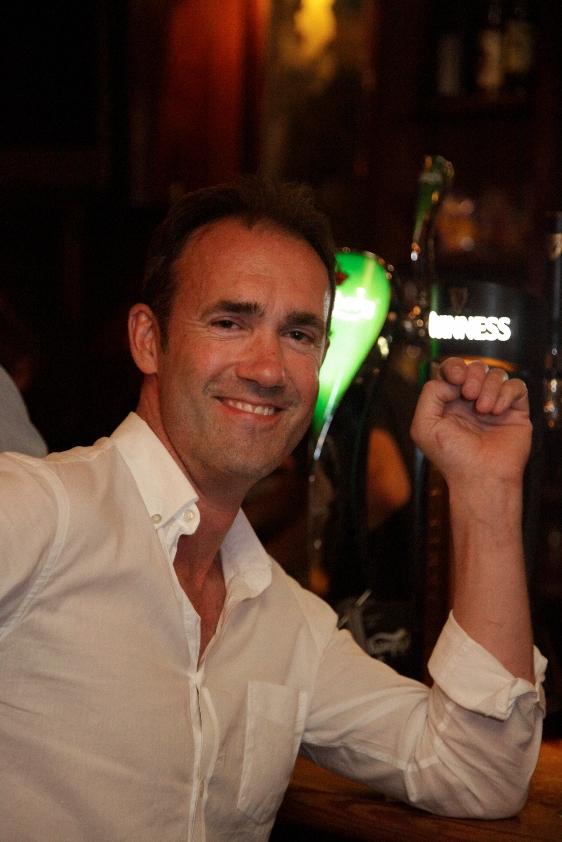 Gareth Holmes owner O'Carolans Irish pub Montpellier.jpg