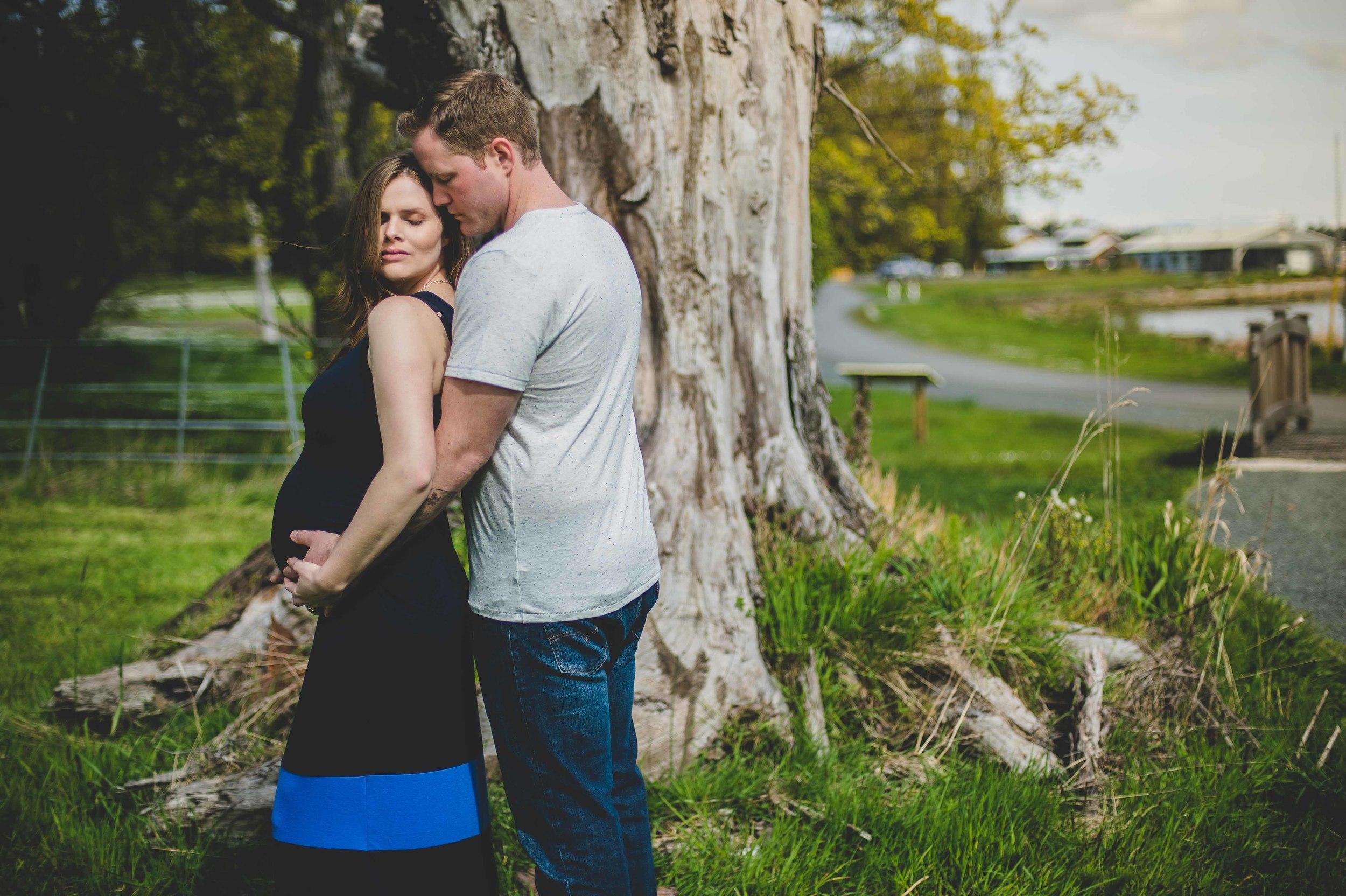 Victoria Royal Roads University Maternity photography edward lai