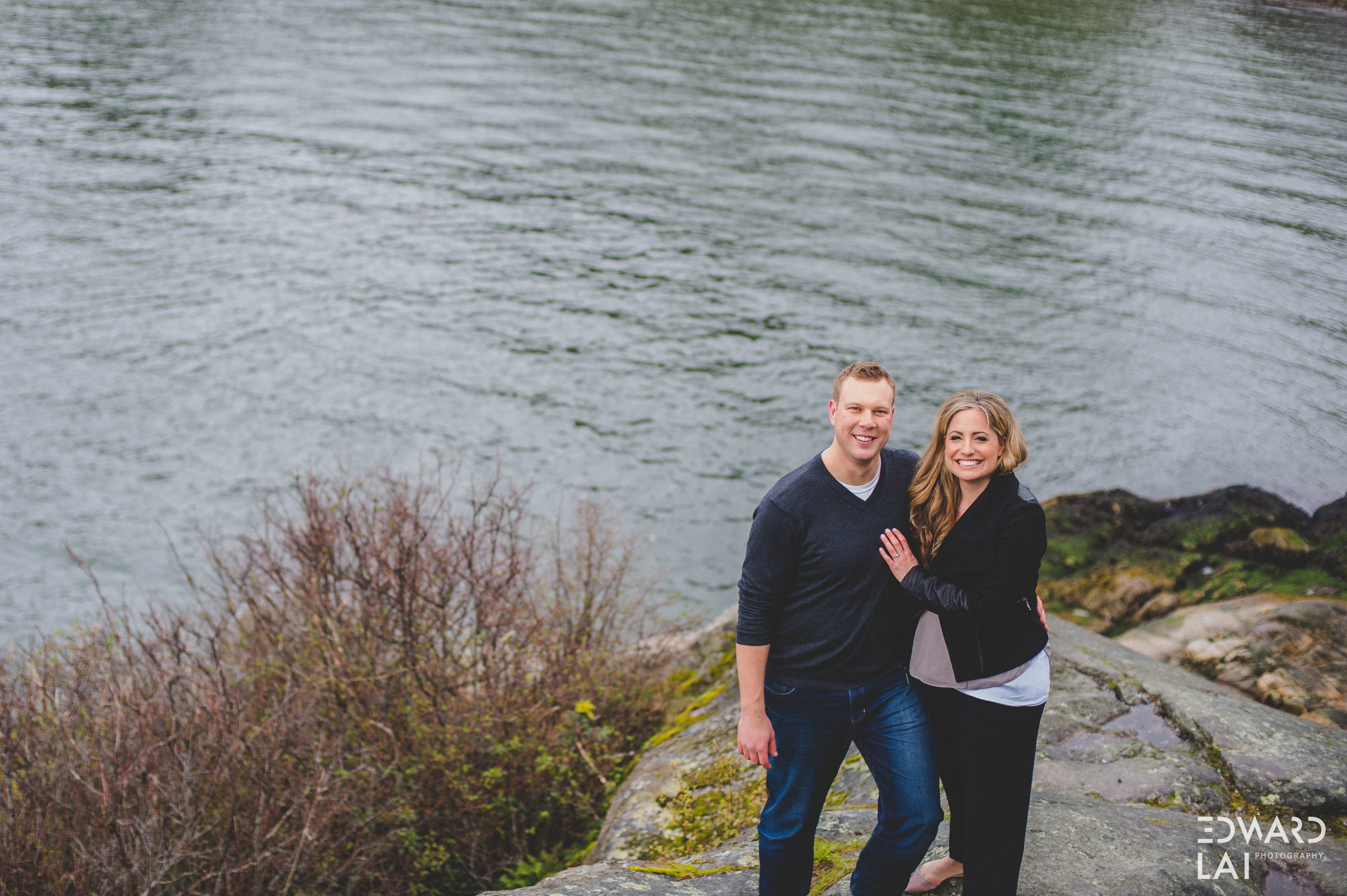 Whytecliff park Vancouver engagement photography edward lai