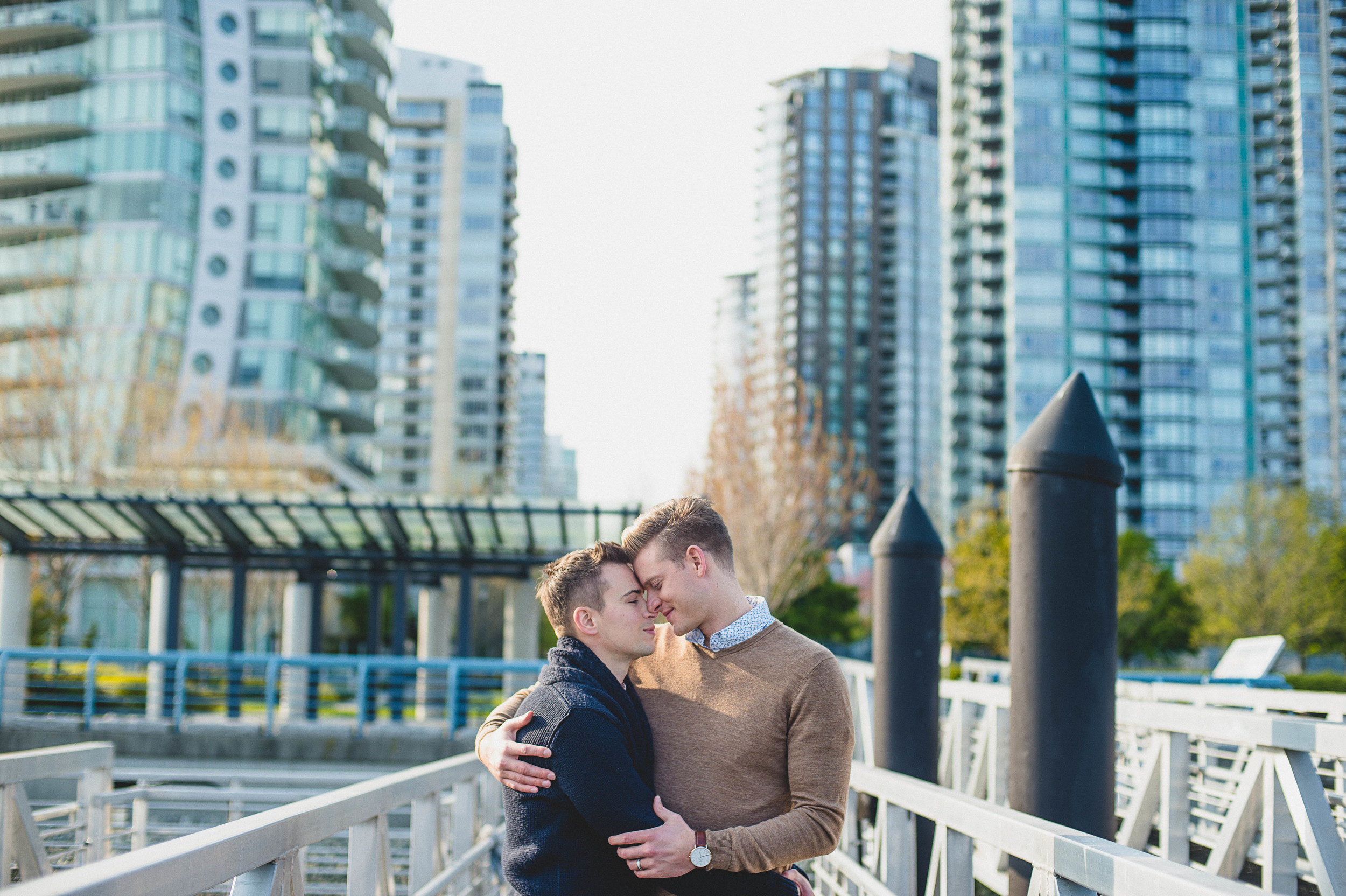 Vancouver Gastown Engagement photography edward lai