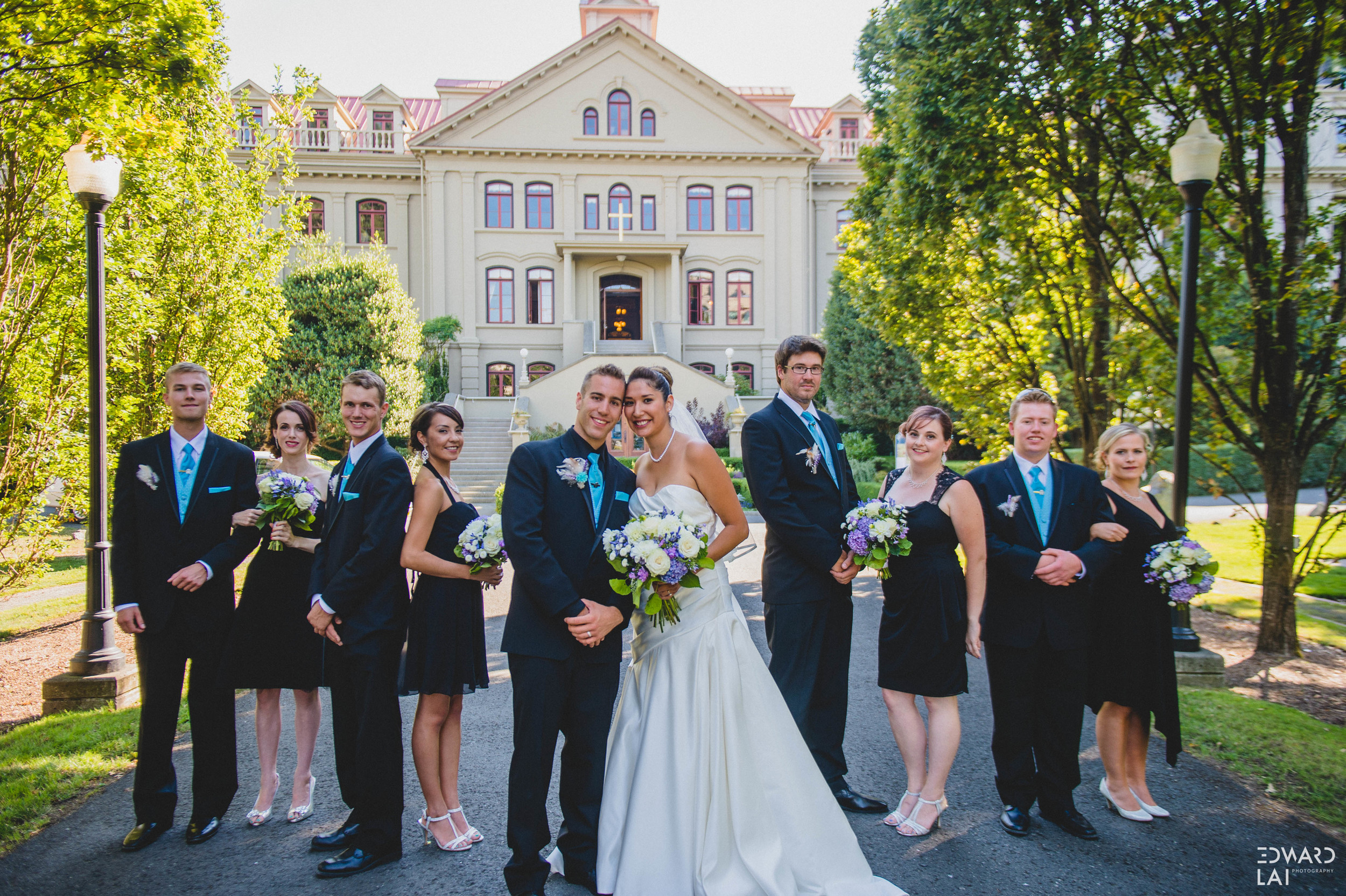 Victoria Wedding English Inn Photographer Edward Lai Photographer