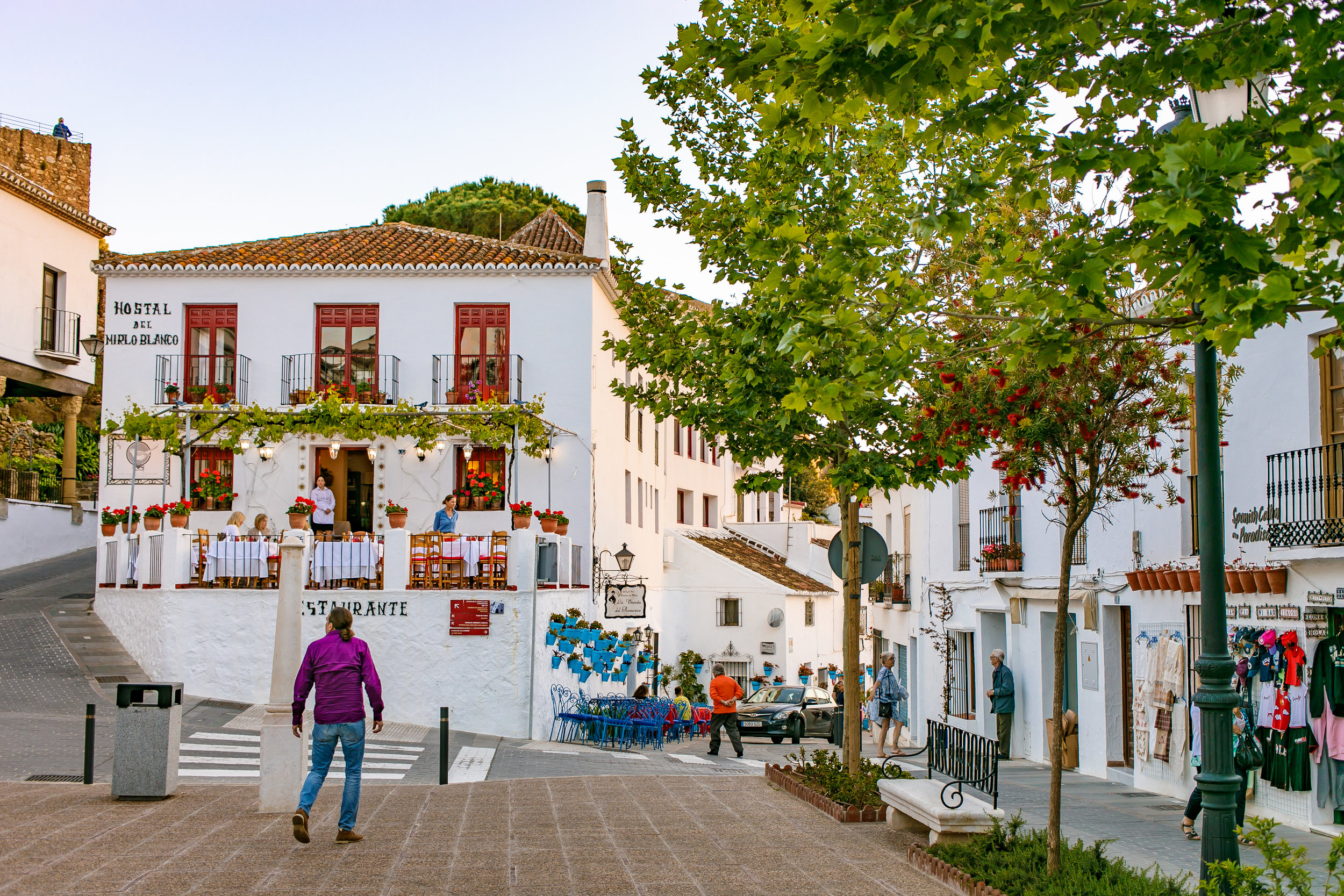 A trip to the little town of Mijas.