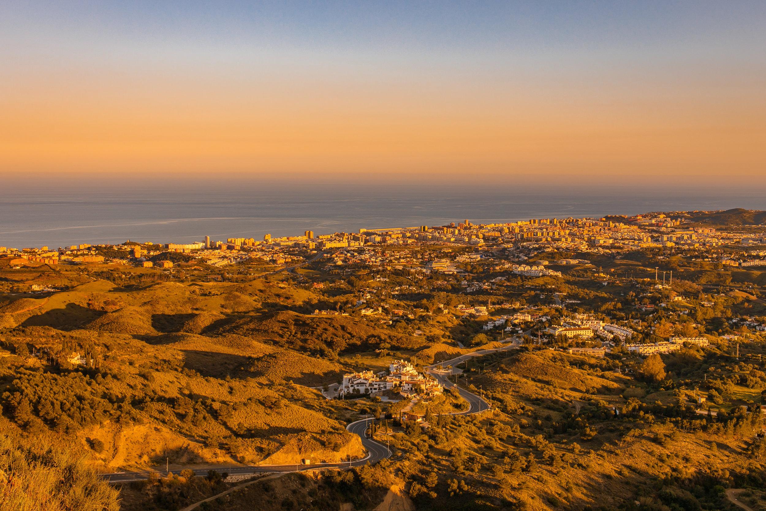 The Costa del Sol.