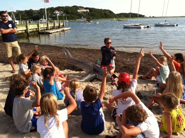 AWSC shark education program at the Stage Harbor Yacht Club.jpeg