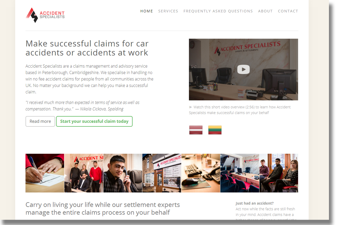 Click to visit Accident Specialists Ltd