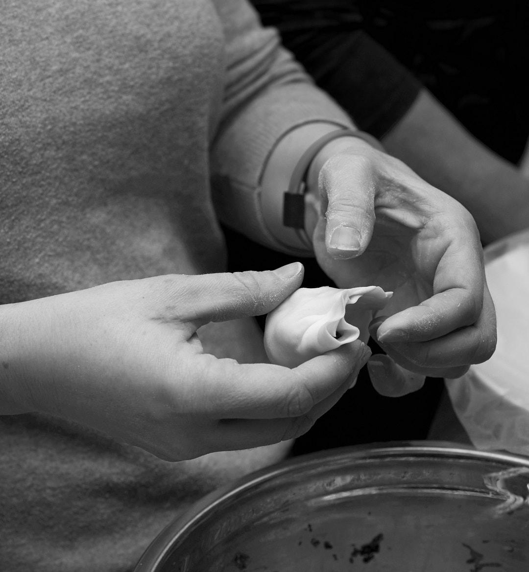 Dumpling Prep | Amy Roth Photo