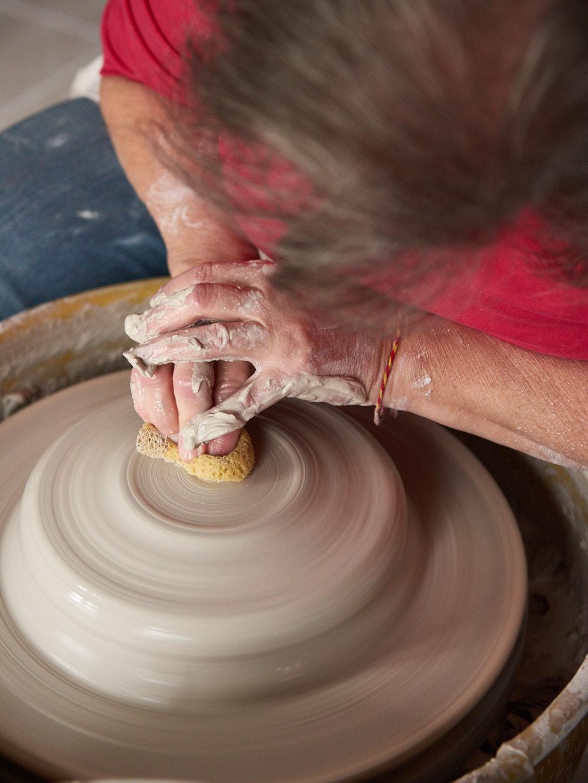Making Pottery   Amy Roth Photo