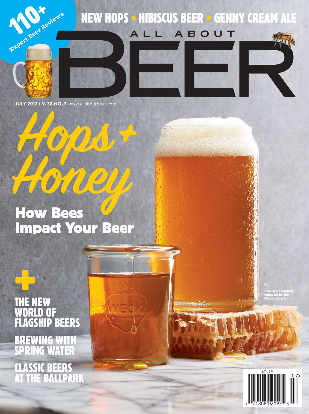 All About Beer Magazine Cover | Amy Roth Photo