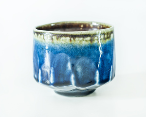 Tomoo Hamada, Salt glazed faceted chawan £1,073