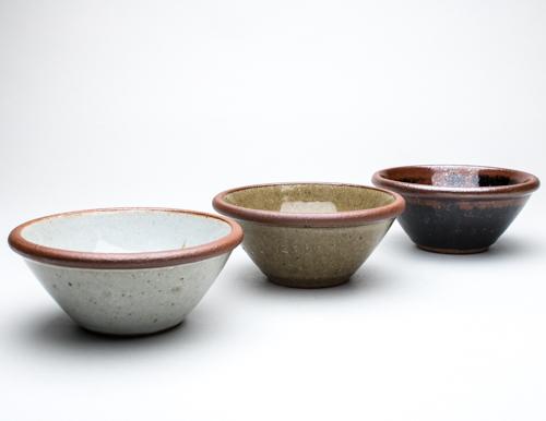 Standard ware bowls
