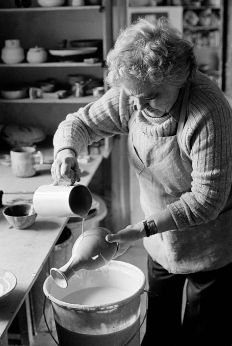 Janet Leach 1982/3. Image: Ben Boswell