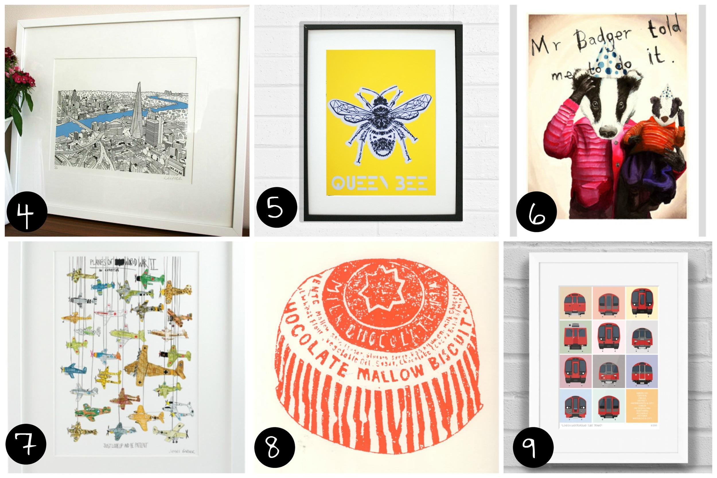 4.  Will Clarke (Peckham - Sun 14 Dec), 5.  Ginger Line Designs (Dalston - Sat 29 Nov) 6.  Jimbobart  (All 6 dates) 7.  Chá com Letras  (Dalston - Sat 29 Nov), 8.  Charlotte Farmer  (Peckham - Sat 13 Dec), 9.  Place in Print  (Peckham - Sun 14 Dec)