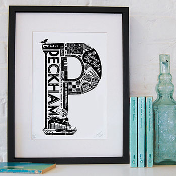 Peckham print by  LucyLovesThis