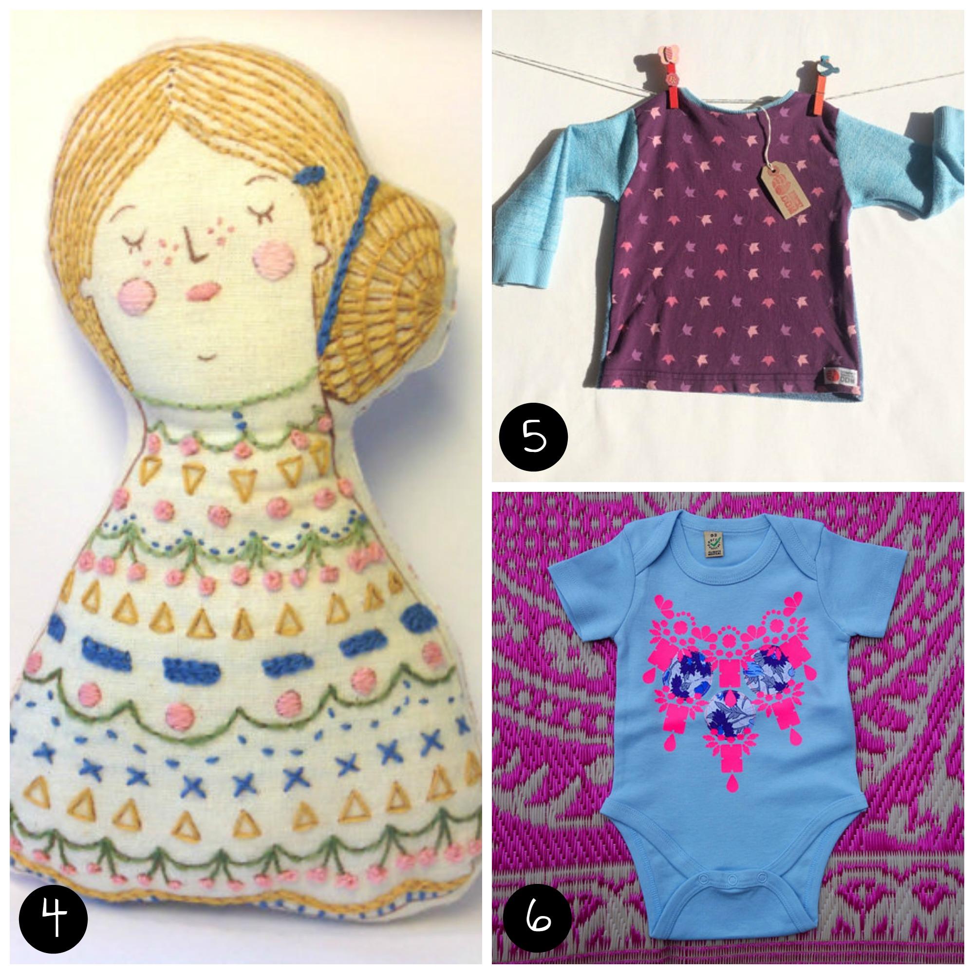 4. Louise Edwards Design  (Peckham - Sun 12 April), 5. Stripey Squirrel  (Peckham - Sat 11 April), 6.  dAKOTA rAE dUST    (Peckham - Sat 11 April)